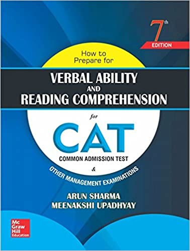 How to Prepare for Verbal Ability and Reading Comprehension for CAT by Arun Sharma, review, buy
