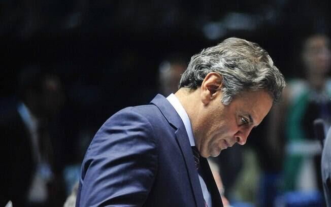 Senador Aécio Neves (PSDB-MG) nega envolvimento em esquema ilício