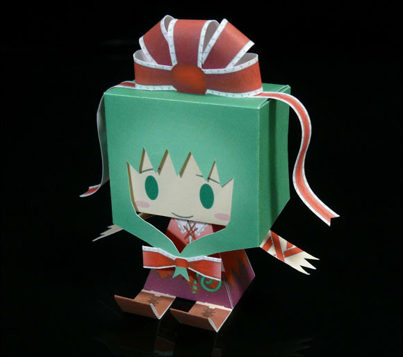 Touhou Project Graphig Hina Papercraft
