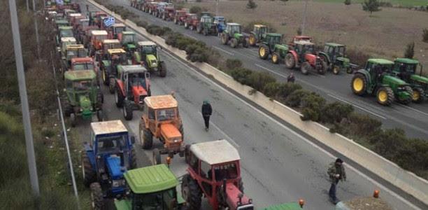 Κατεβαίνουν Αθήνα οι Θεσσαλοί αγρότες!