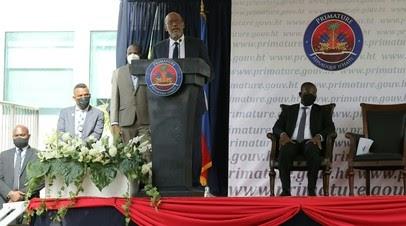 В Гаити прошла церемония инаугурации нового правительства