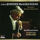 カラヤン 美しく青きドナウ シュトラウス名曲コンサート カラヤンの華麗な演奏で聴くウィンナ・ワルツ&ポルカ名曲集 EJS-1015