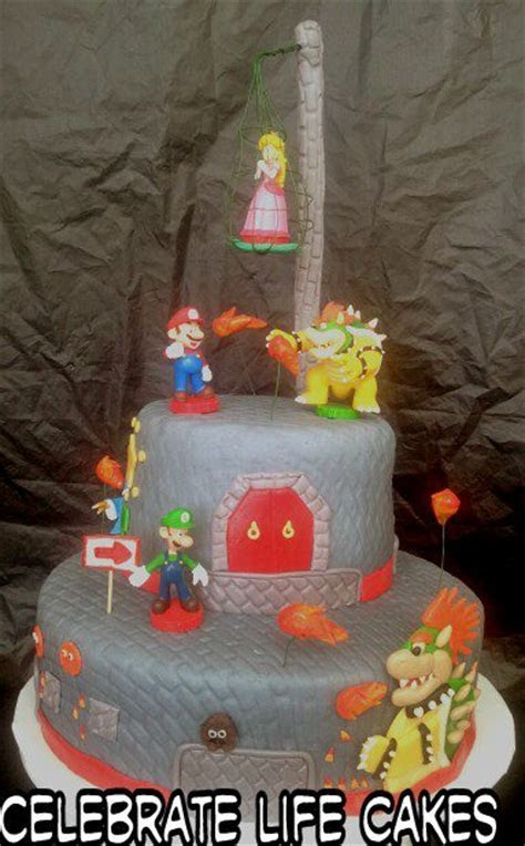 Bowser?s Castle Cake   Celebrate Life Cakes