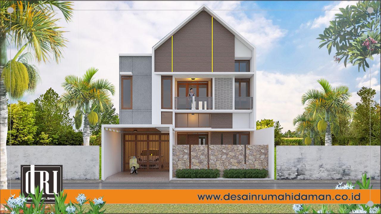 Rumah Mewah Atap Pelana Jogjakarta Desain Rumah Idaman