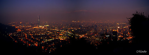 Santiago de Noche contaminado by Alejandro Bonilla