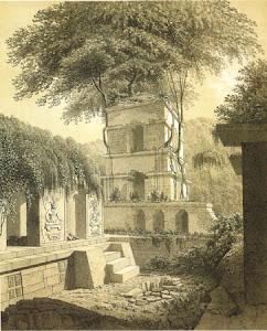 Vista pintoresca del Palacio de Palenque