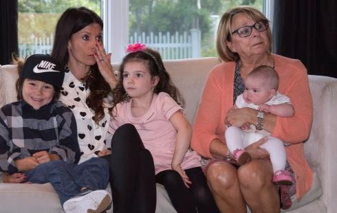 La famille de Simon Gagné