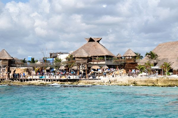 A snapshot of the resort at Costa Maya, Mexico, on March 21, 2018.