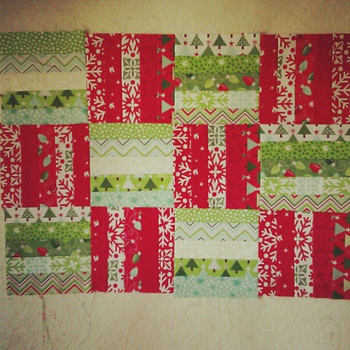 A little Christmas sewing! :)