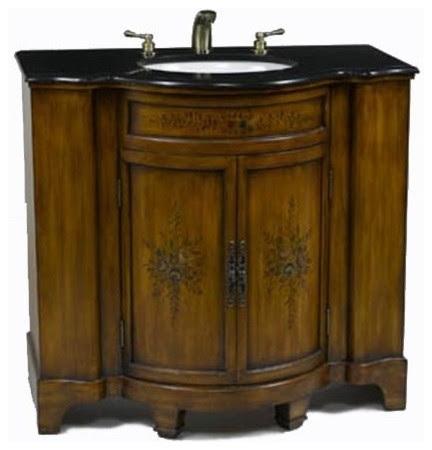 Bathroom Consoles on Bathroom Vanity   Traditional   Bathroom Vanities And Sink Consoles