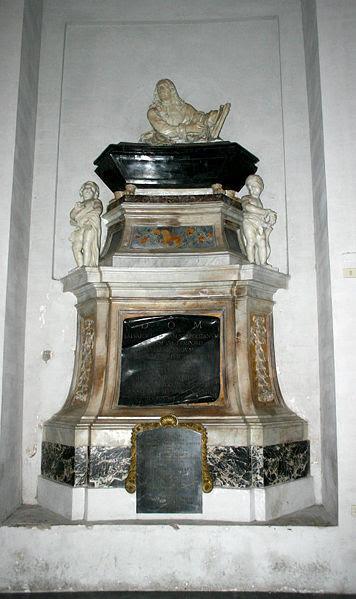 Fil: 3200 Roma - S. Maria degli Angeli - Tomba Salvator Rosa - Foto Giovanni DALL'ORTO 17-Jun-2007.jpg