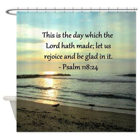 PSALM 118:14 Shower Curtain by HeavenlyBlessings