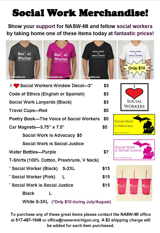 Social Work Merchandise - National Association of Social ...
