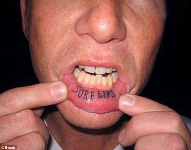 30 Amazingly Cool Inner Lip Tattoos Ideas 2017