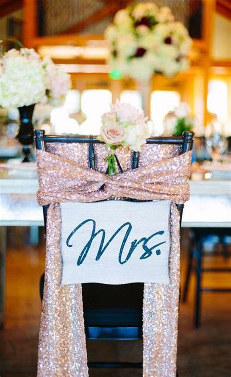 rose gold wedding theme  fab ideas  decorations