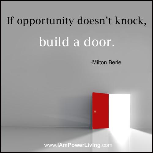 Build A Door Power Living Today