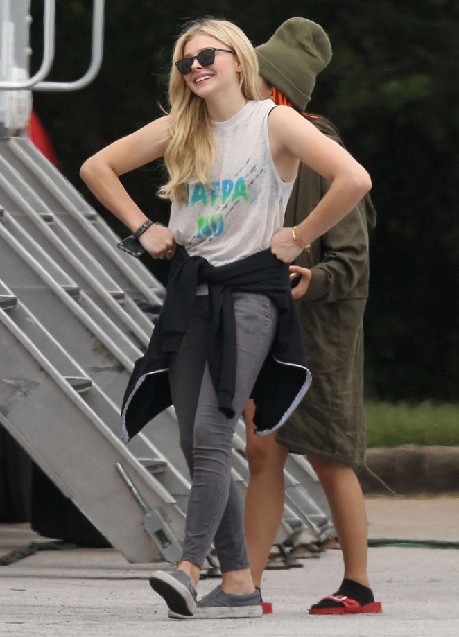 Chloe Moretz: Set of Neighbors 2 Sorority Rising -03