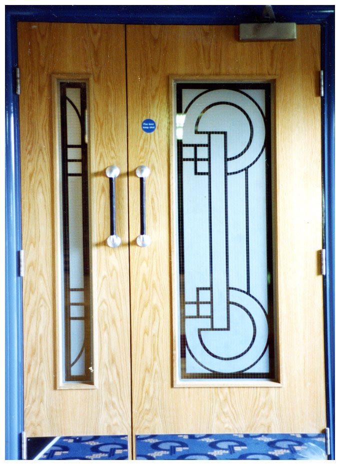 Glass Design For Door Panels And Windows Glass Services Corporate Crystal Uk
