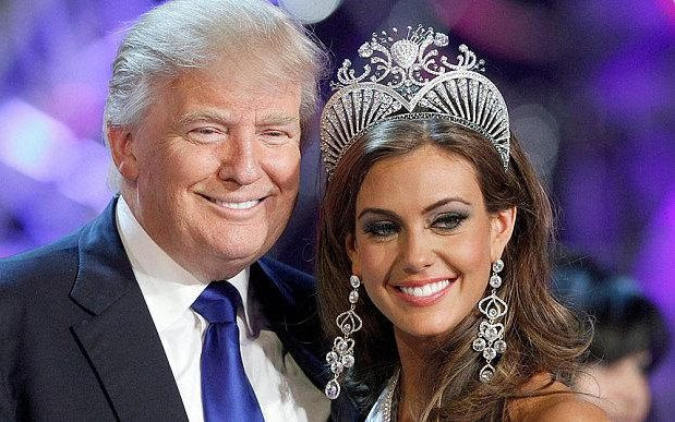 Donald Trump was co-owner of the Miss Universe Organisation