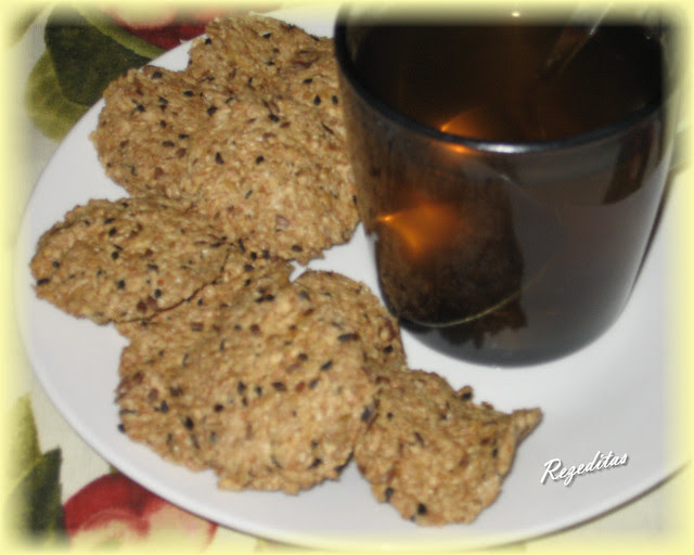 GALLETITAS DE AVENA Y SEMILLAS