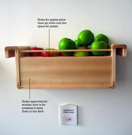 Symbiosis of Potato and Apple