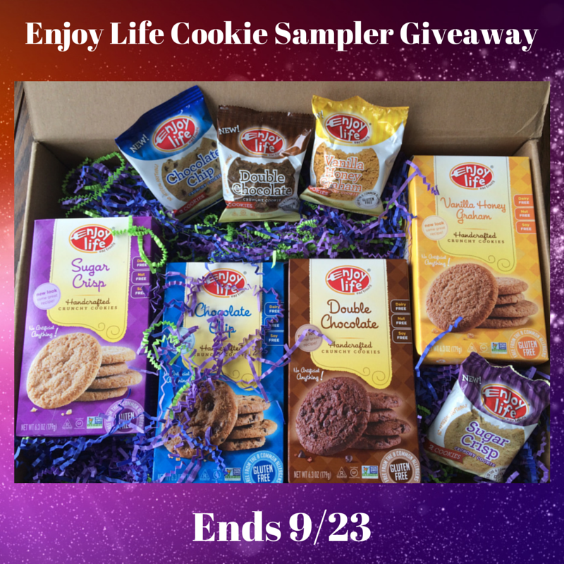 Enjoy Life Cookie Sampler Giveaway