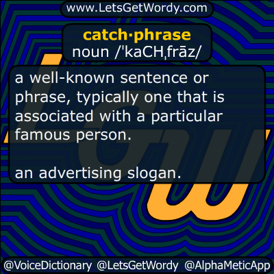 catchphrase 08/03/2017 GFX Definition
