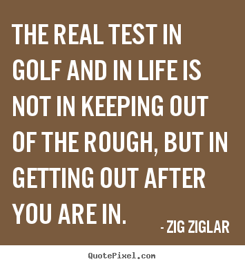 Design Custom Picture Quote About Inspirational The Real Test In