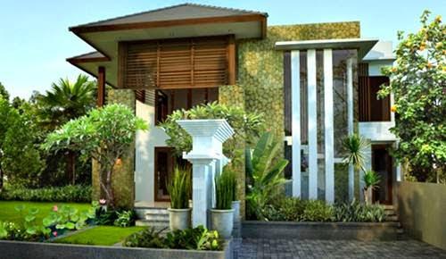 15 Gambar Rumah Minimalis Modern 2 Lantai Terindah