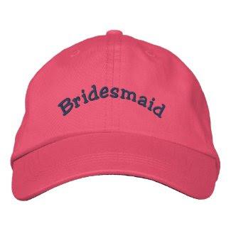 Bridesmaid Embroidered Wedding Hat embroideredhat