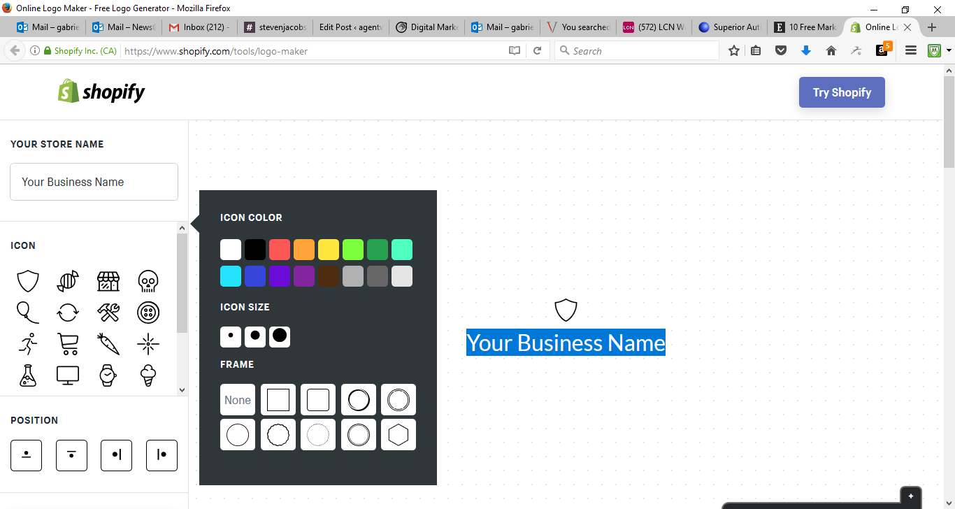 50 Free Marketing Tools Any Small Business Can Use - Shopify Logo Maker