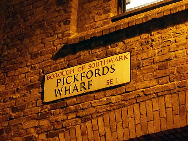 Pickfords wharf