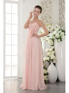 Beautiful Chiffon Pearl Pink Prom Gown 2012 IMG 9518:1st