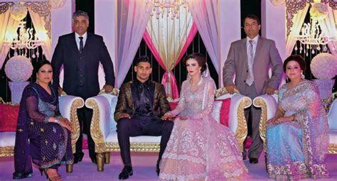 Amir Khan and Faryal Makhdoom Valima (Pictures)   Pakium.com