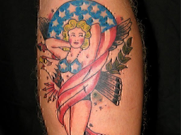 11 Worst American Flag Tattoos To Ever America Jobs For Veterans