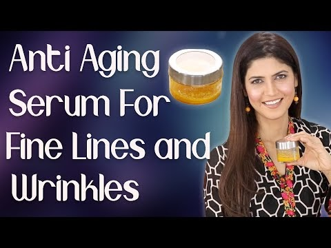 Homemade Anti- Aging Serum for Fine Lines and Wrinkles