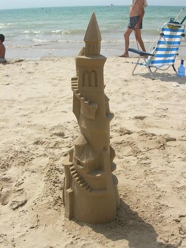 Castillo de arena estilizado grande (1)