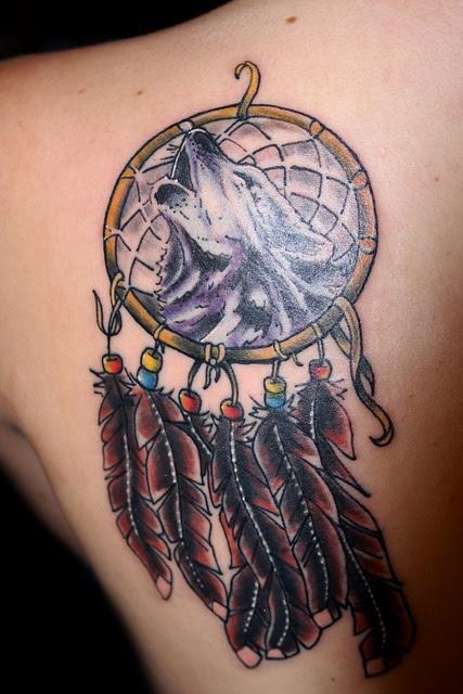Wolf Tattoo Dreamcatcher Ideas Yo Tattoo