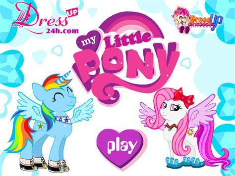 My Little Pony Dressup Game   My Little Pony Friendship is