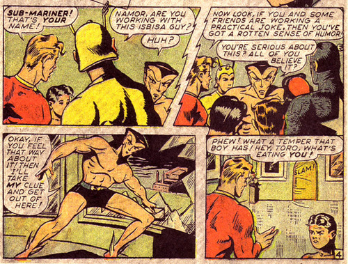 Namor Gets Mad