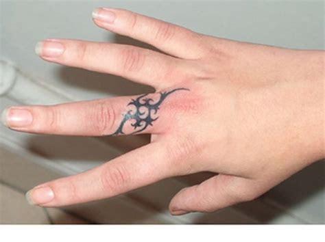 26 Astonishing Finger Tattoo Designs