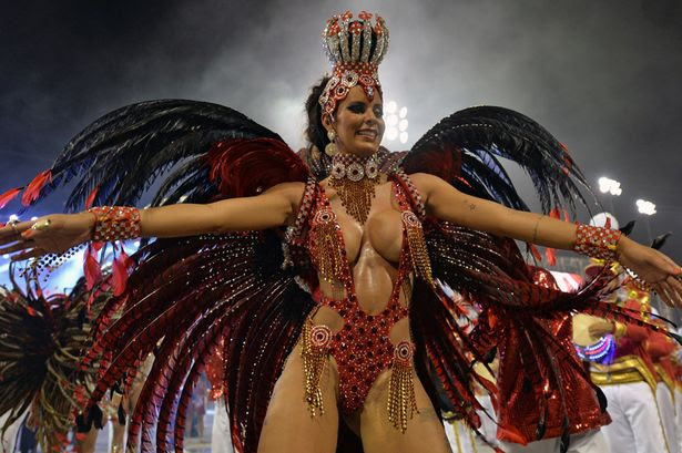 2014 Brazil Carnival sexiest pictures: Meet the samba dancers from ...