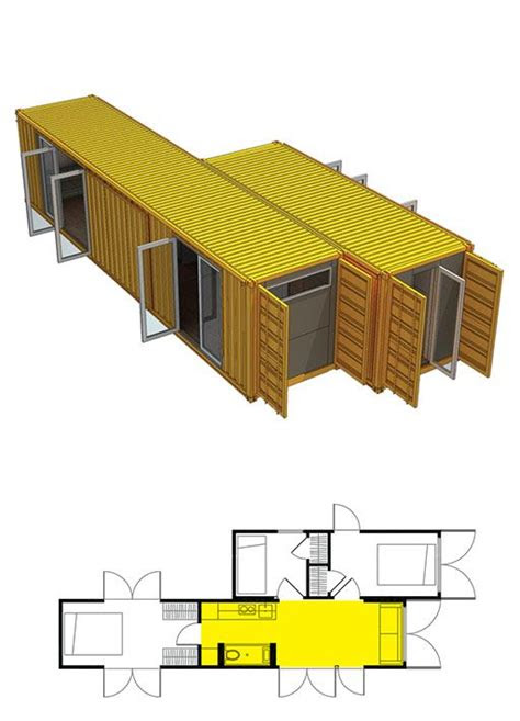 montainer  shipping container architecture easy