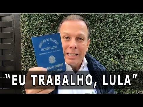 Dória chama Lula de mentiroso, covarde e desinformado