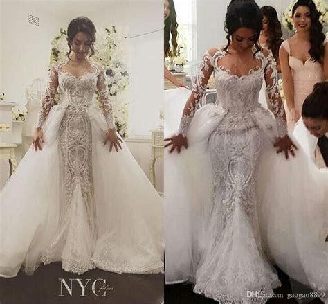 Middle East 2017 Wedding Dresses Mermaid Bridal Dresses
