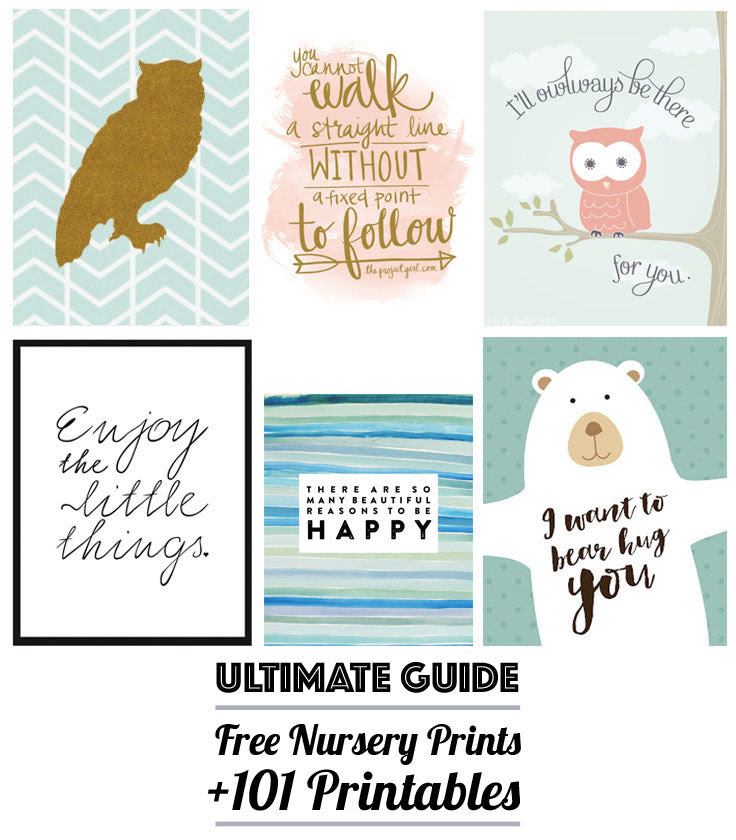 Free Nursery Art the Ultimate Guide to Over 101 Free Printables_2048x2048