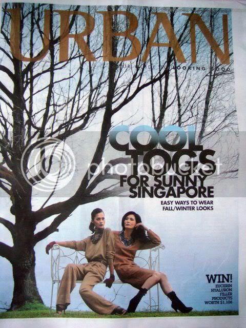 Singapore Straits Times Urban