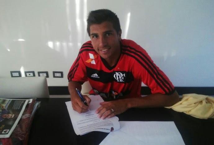 Lucas Mugni Flamengo (Foto: Arquivo pessoal)