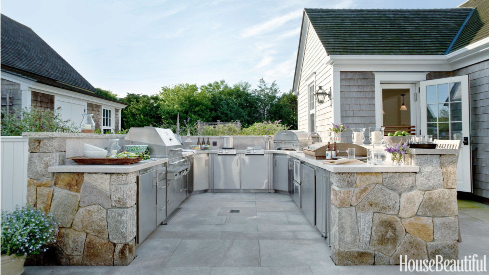 15 Best Outdoor Kitchen Ideas and Designs - Pictures of Beautiful ...