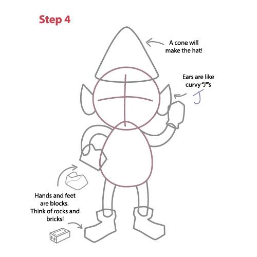 Aprender A Dibujar Duende De Navidad Eshellokidscom